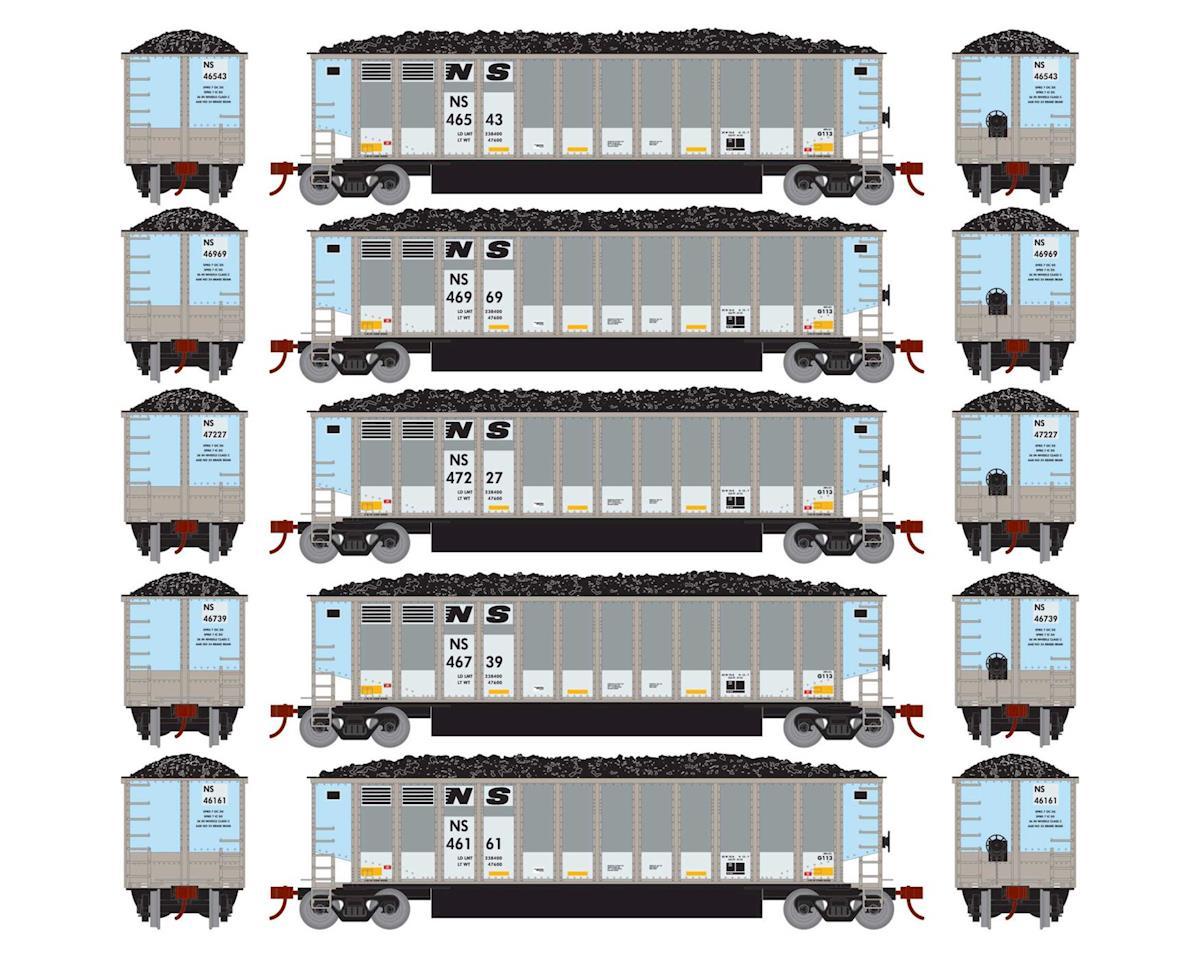 Athearn HO RTR Bethgon Coalporter w/Load, NS #1 (5)
