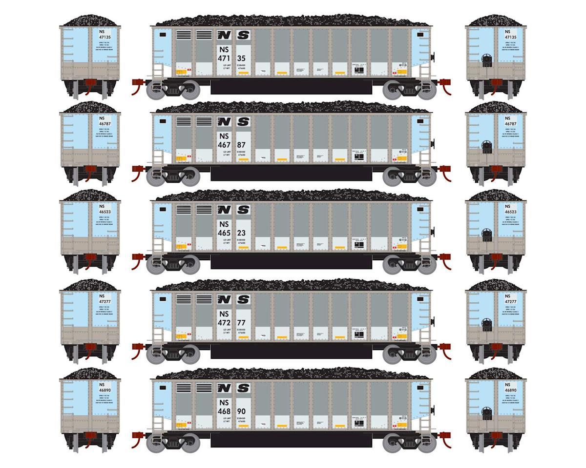 Athearn HO RTR Bethgon Coalporter w/Load, NS #2 (5)