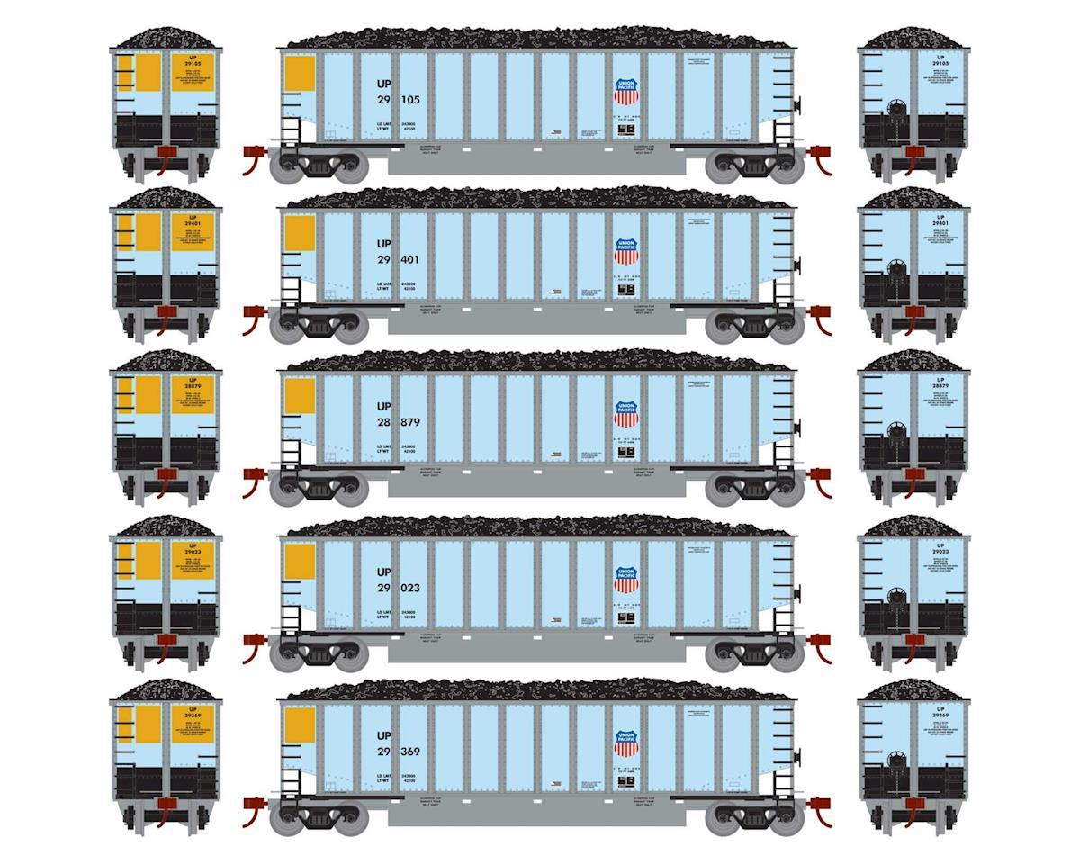 Athearn HO RTR Bethgon Coalporter w/Load, UP #1 (5)