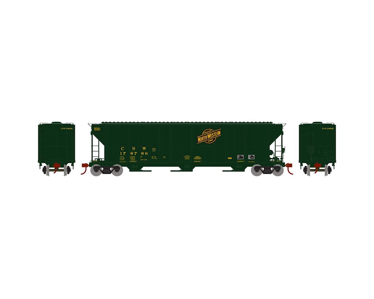 Athearn HO RTR FMC 4700 Covered Hopper, C&NW #178786