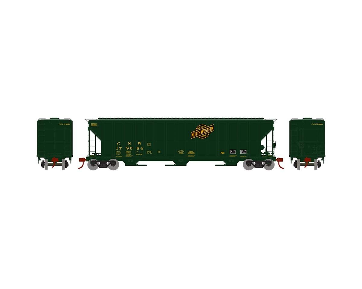Athearn HO RTR FMC 4700 Covered Hopper, C&NW #179084