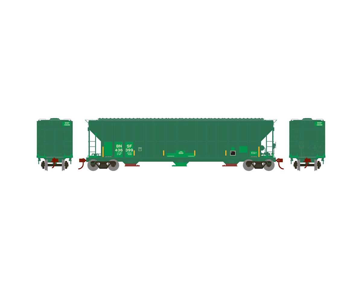 Athearn HO RTR FMC 4700 Covered Hopper,BNSF/Railway#436399