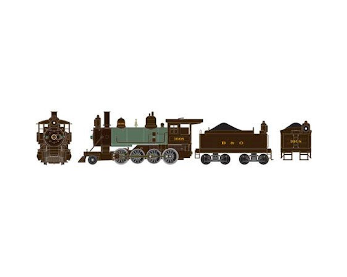 Athearn HO RTR Old Time 2-8-0 w/DCC & Sound, B&O #1608