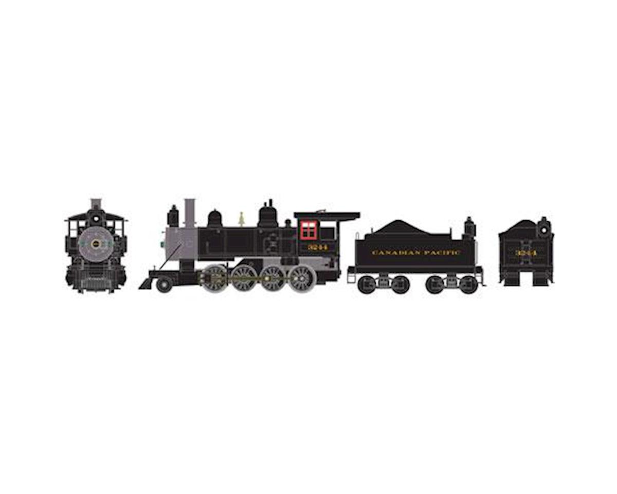 Athearn HO RTR Old Time 2-8-0 w/DCC & Sound, CPR #3244