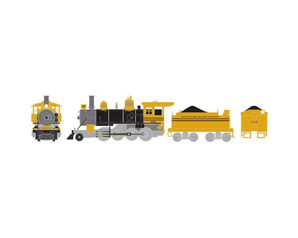 Athearn HO RTR Old Time 2-8-0 w/DCC & Sound, D&RGW #951