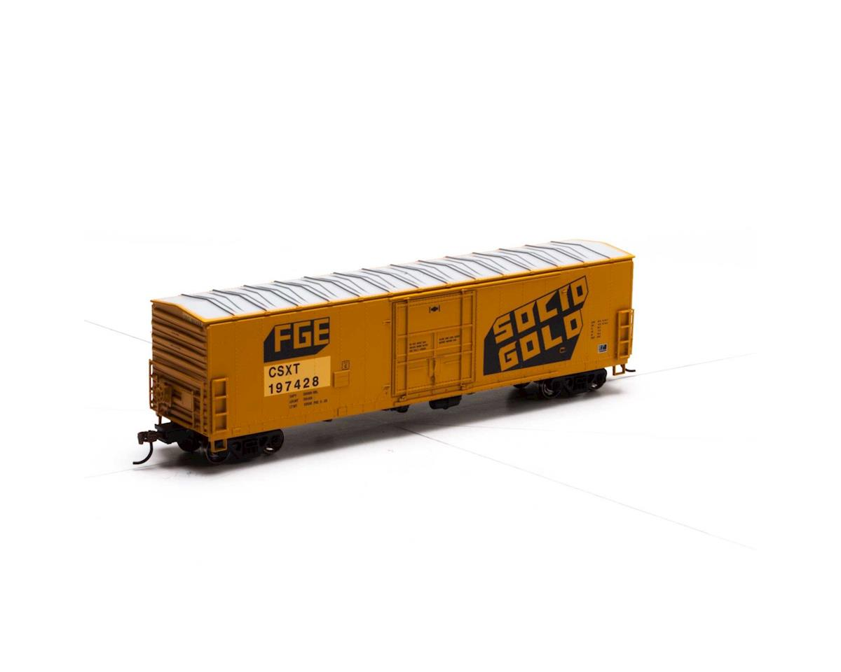 Athearn HO RTR 50' Superior Door Box, CSX/Ex-FGE #197428