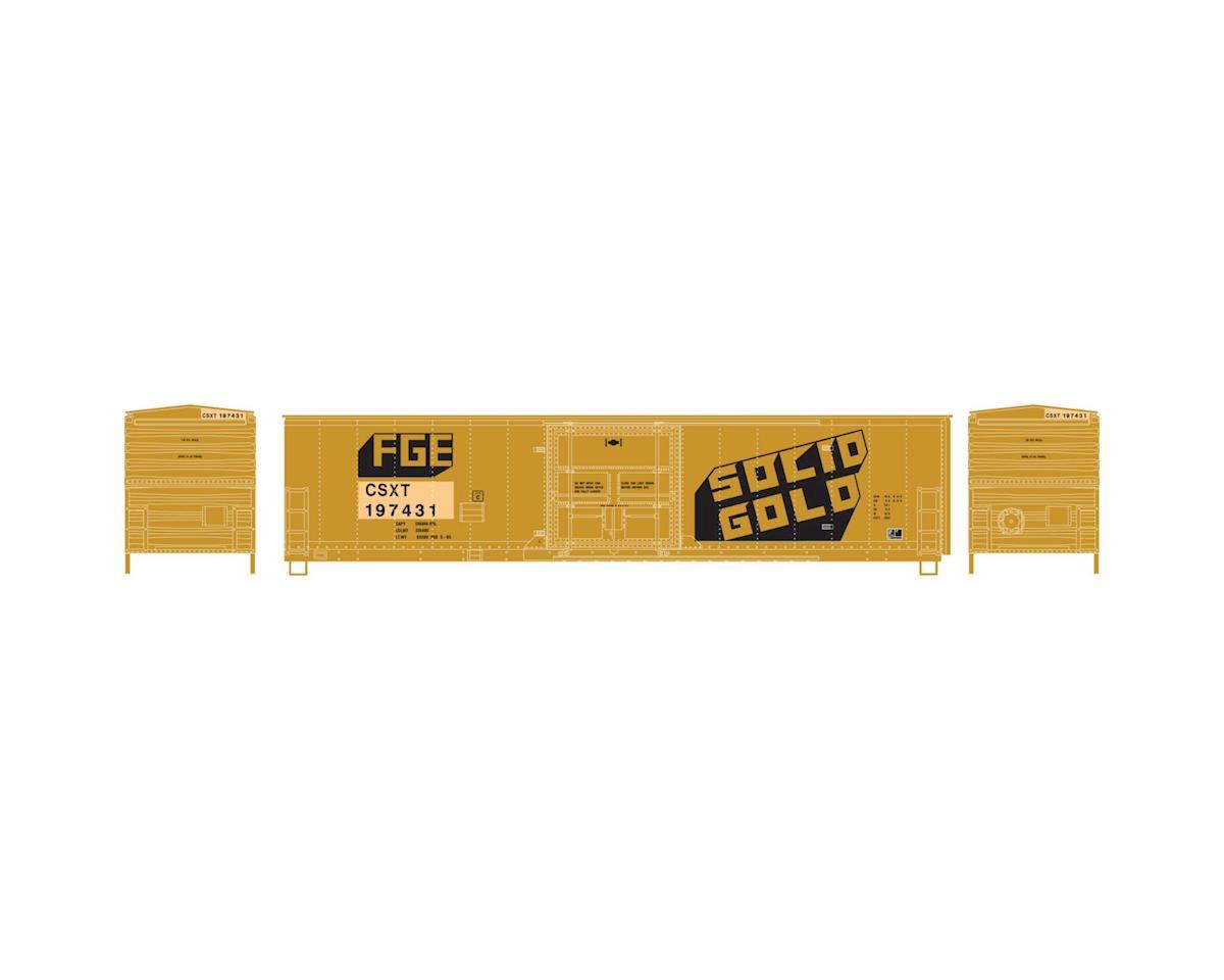 Athearn HO RTR 50' Superior Door Box, CSX/Ex-FGE #197431