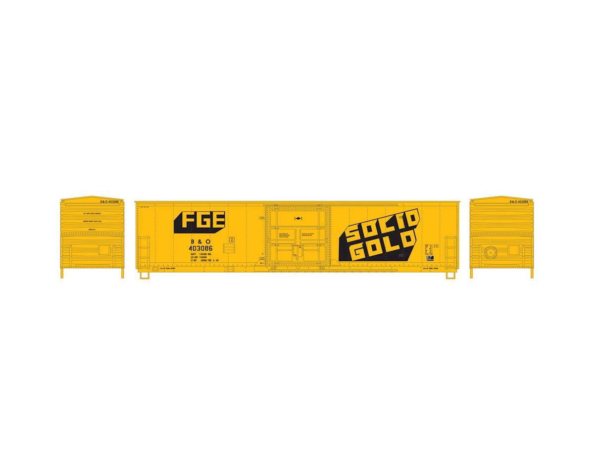 Athearn HO RTR 50' Superior Door Box, FGE/B&O #403086