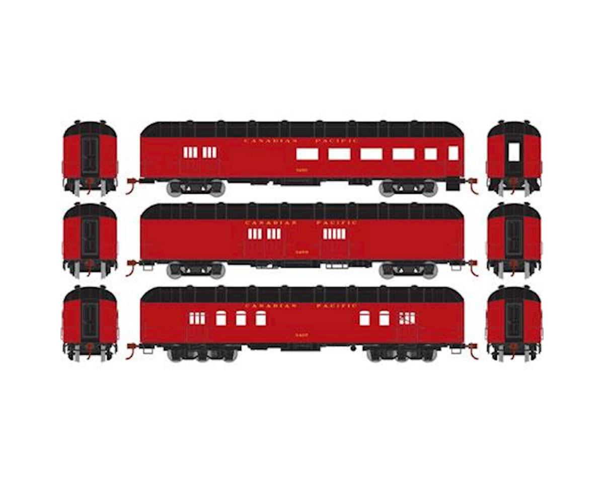 Athearn HO RTR Arch Roof Set, CPR (3)