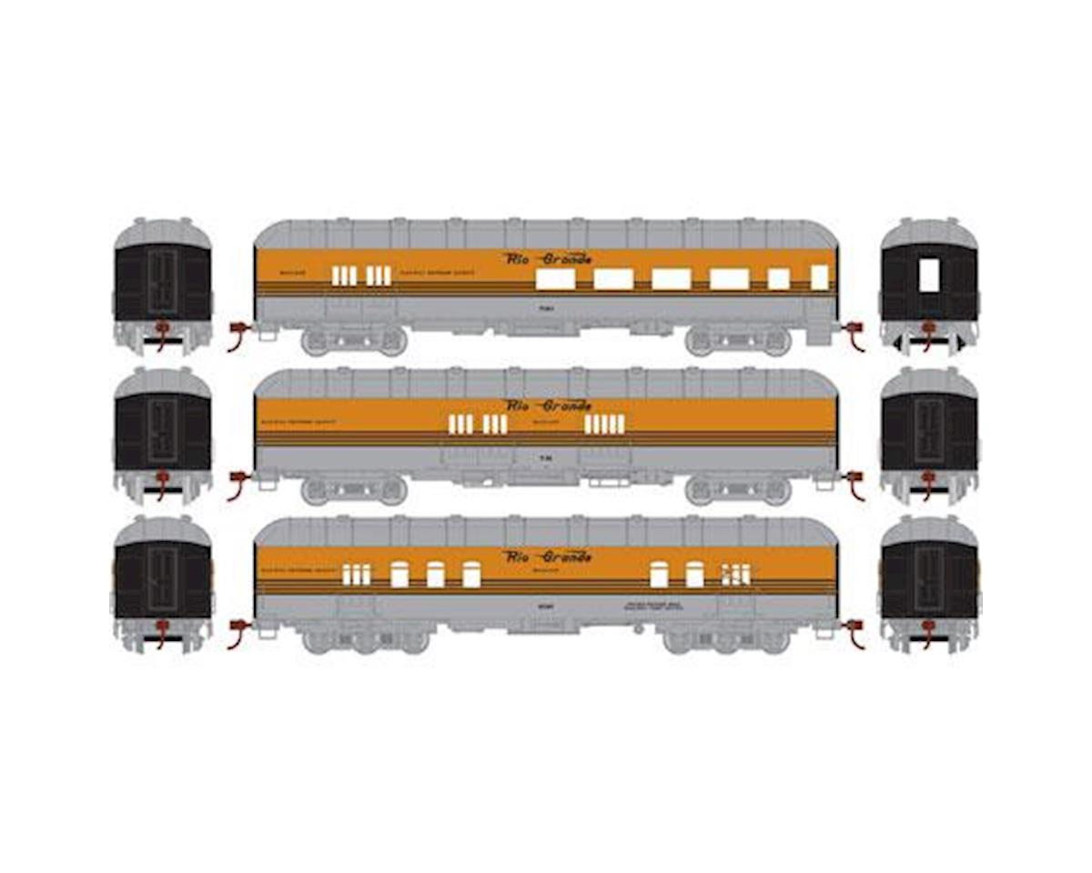 HO RTR Arch Roof Set, D&RGW (3)