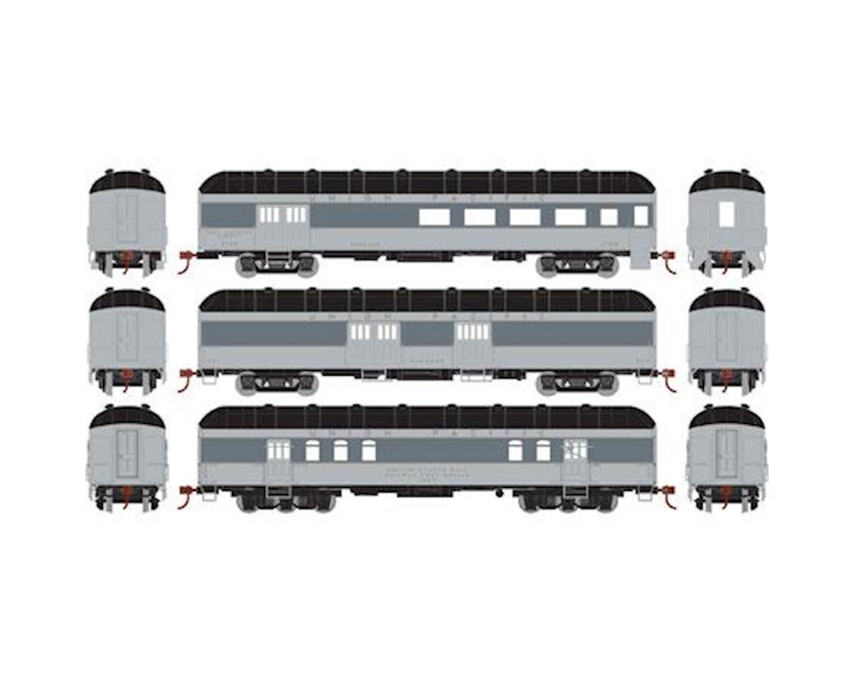 Athearn HO RTR Arch Roof Set, UP (3) [ATH86539] | Toys & Hobbies