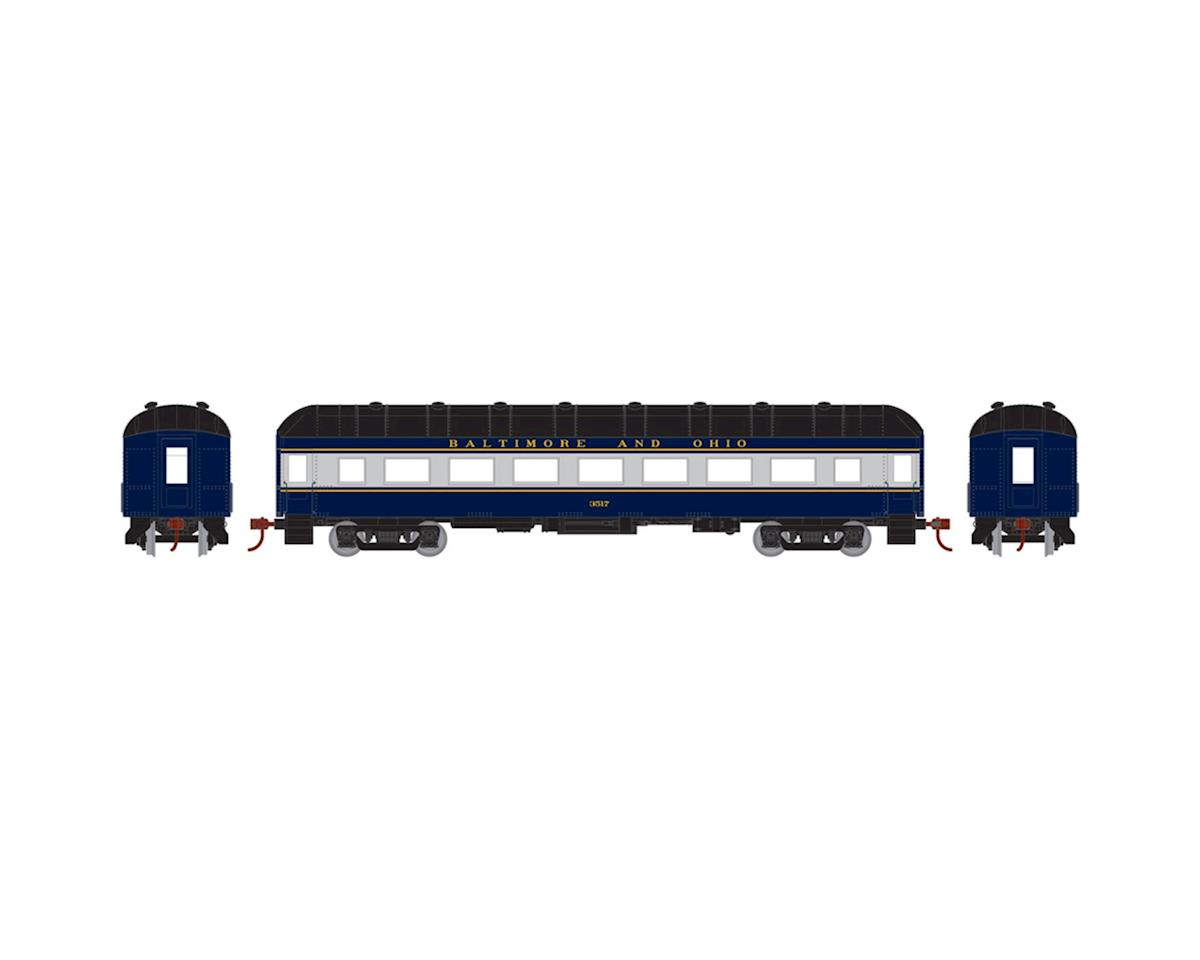Athearn HO RTR Arch Roof Coach, B&O #3517