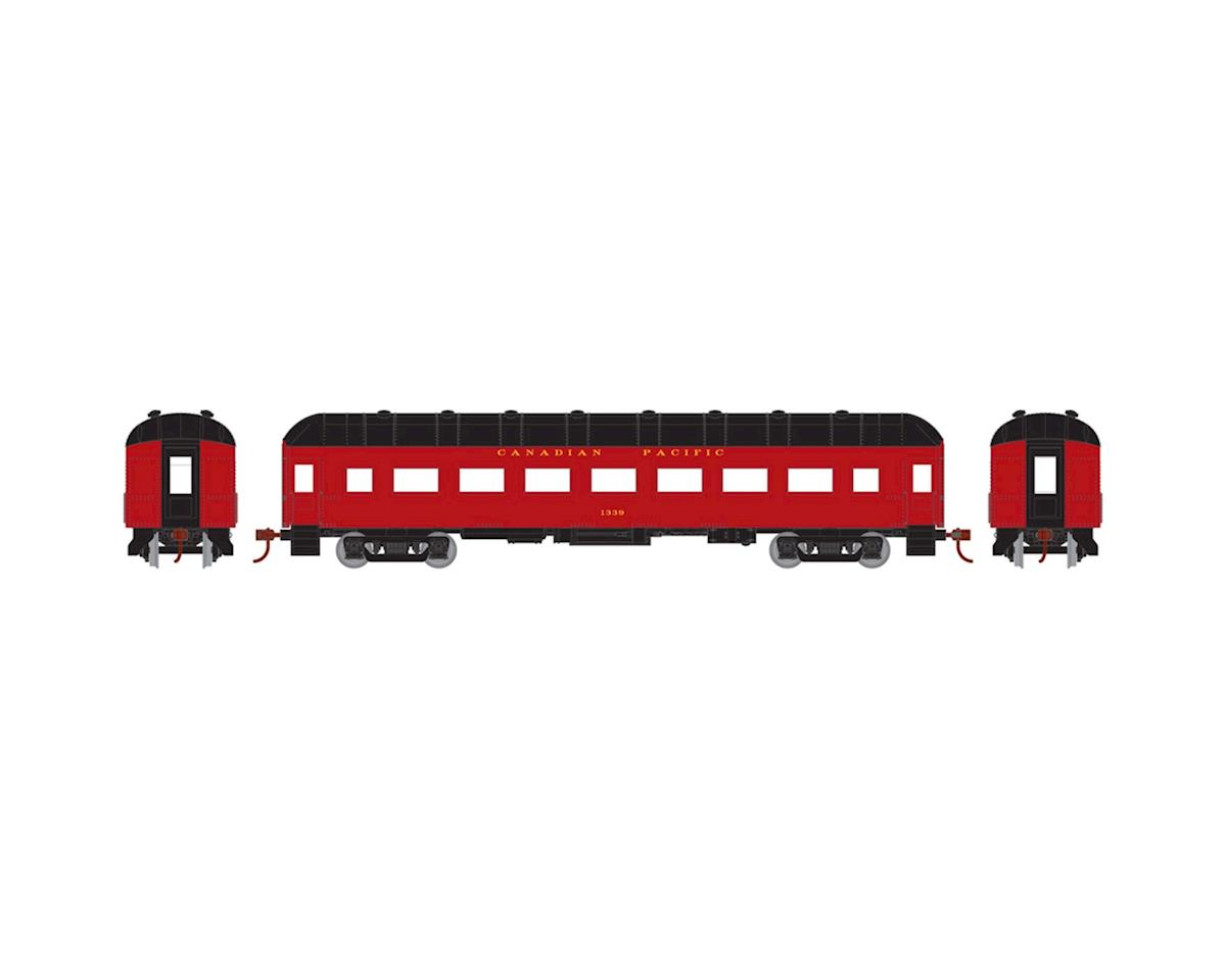 HO RTR Arch Roof Coach, CPR #1339 by Athearn