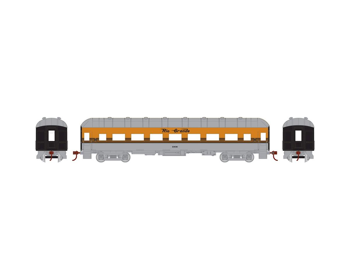 Athearn HO RTR Arch Roof Coach, D&RGW #1006