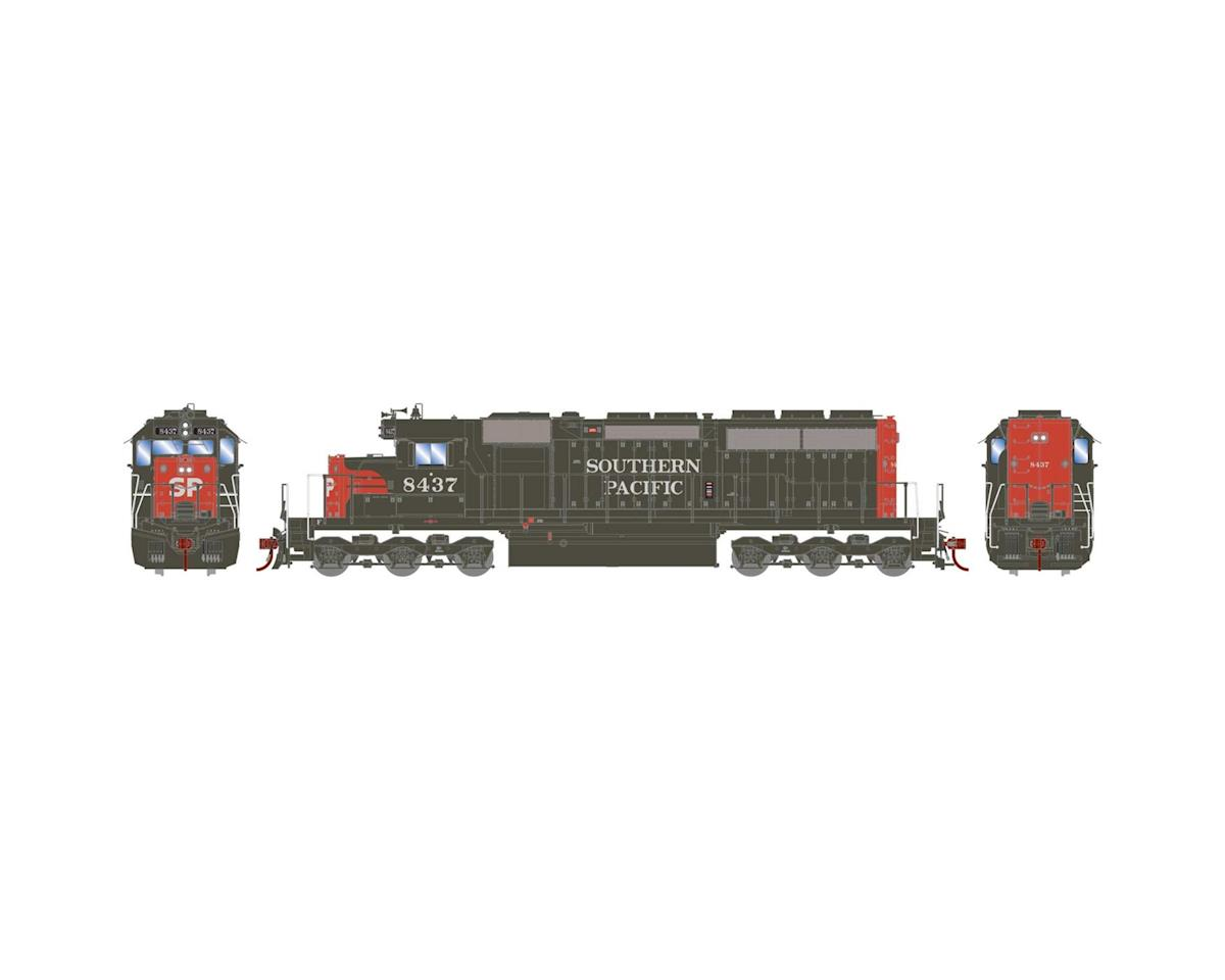 Athearn HO RTR SD40, SP/Red & Grey/SP on Nose #8437