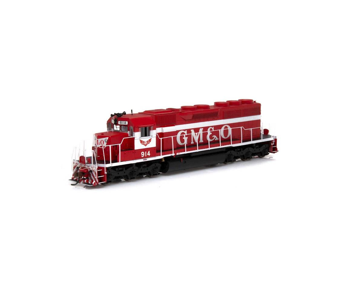 Athearn HO RTR SD40, GM&O/Red & White #914