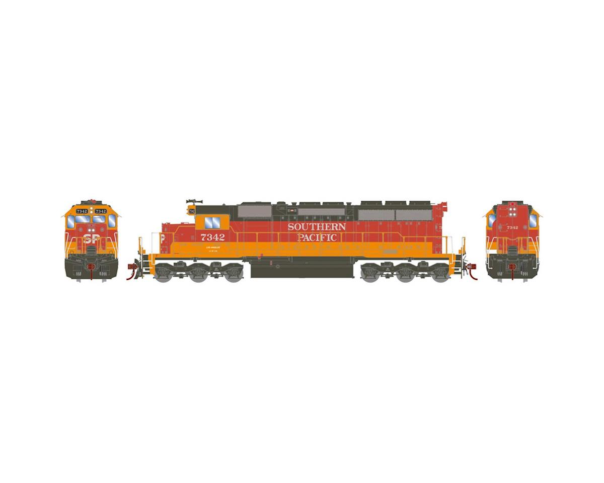 Athearn HO RTR SD40/DCC & SND,SP/Daylight Red/Orange #7342