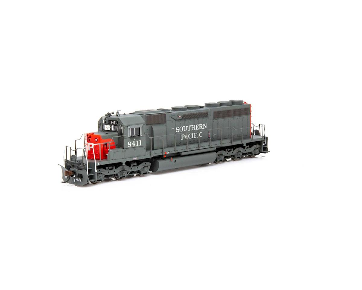 Athearn HO RTR SD40/DCC & SND,SP/Red/Grey/SP on Nose #8411