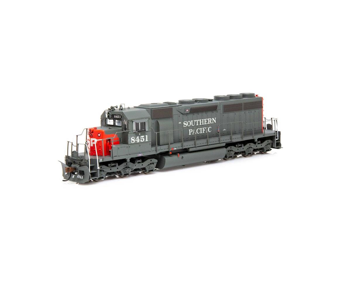 Athearn HO RTR SD40/DCC & SND,SP/Red/Grey/SP on Nose #8451