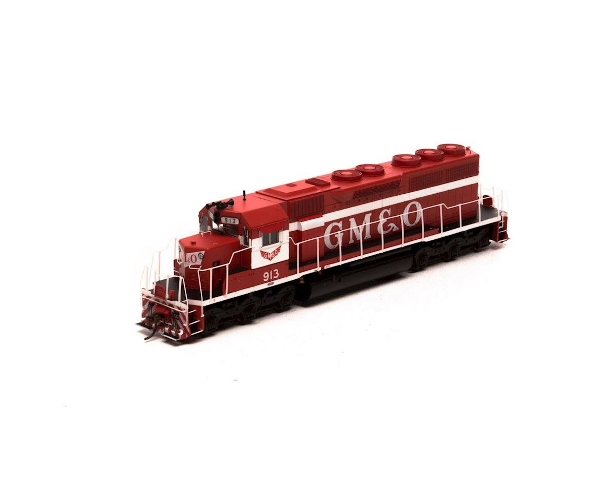 Athearn HO RTR SD40 w/DCC & Sound, GM&O/Red & White #913
