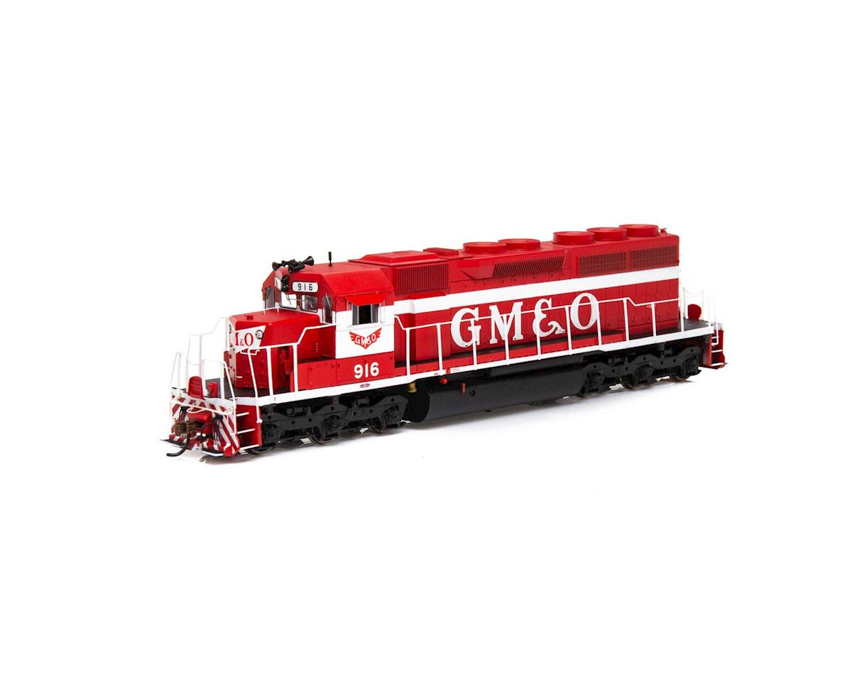Athearn HO RTR SD40 w/DCC & Sound, GM&O/Red & White #916