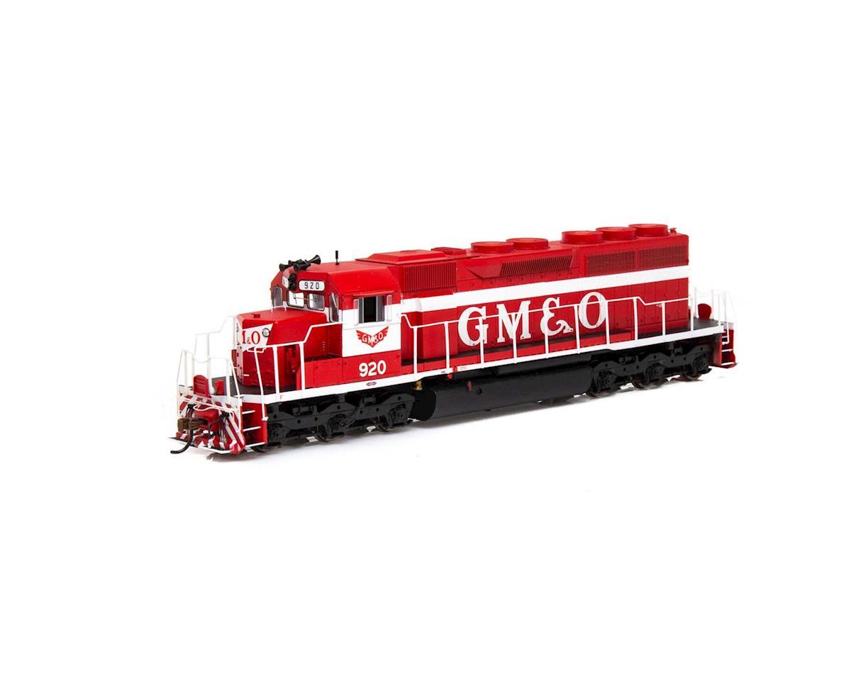 Athearn HO RTR SD40 w/DCC & Sound, GM&O/Red & White #920