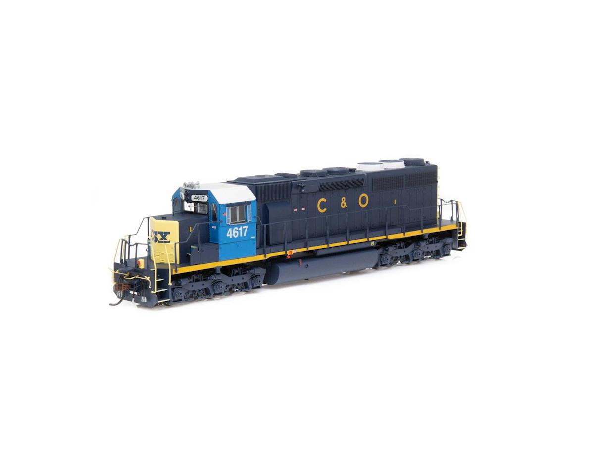 HO RTR SD40 w/DCC & Sound, CSX/Ex-C&O #4617 by Athearn