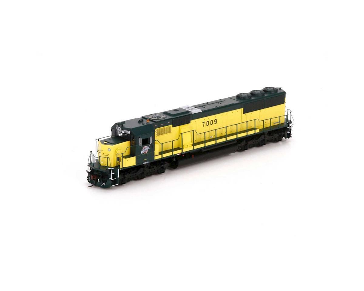 Athearn HO RTR SD50, C&NW/Zito Yellow #7009