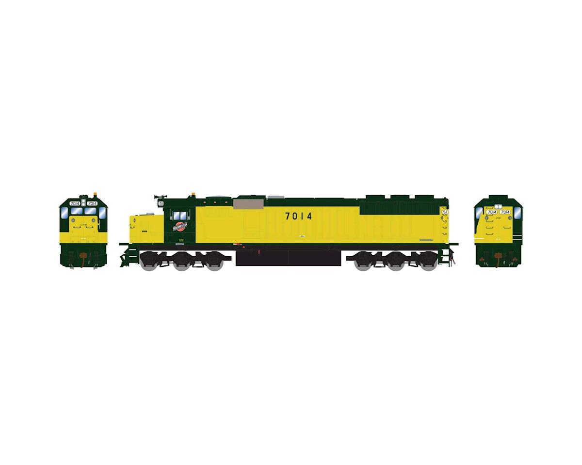 Athearn HO RTR SD50, C&NW/Zito Yellow #7014