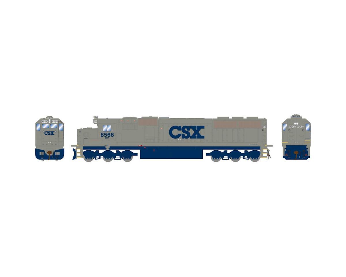 Athearn HO RTR SD50, CSX/Stealth #8566