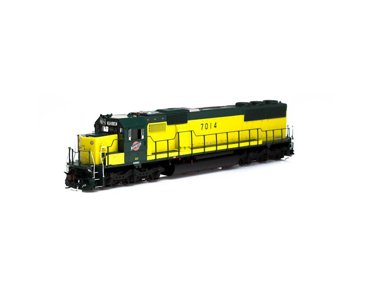 Athearn HO RTR SD50 w/DCC & Sound, C&NW/Zito Yellow #7014