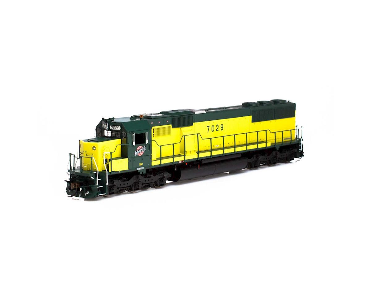 Athearn HO RTR SD50 w/DCC & Sound, C&NW/Zito Yellow #7029