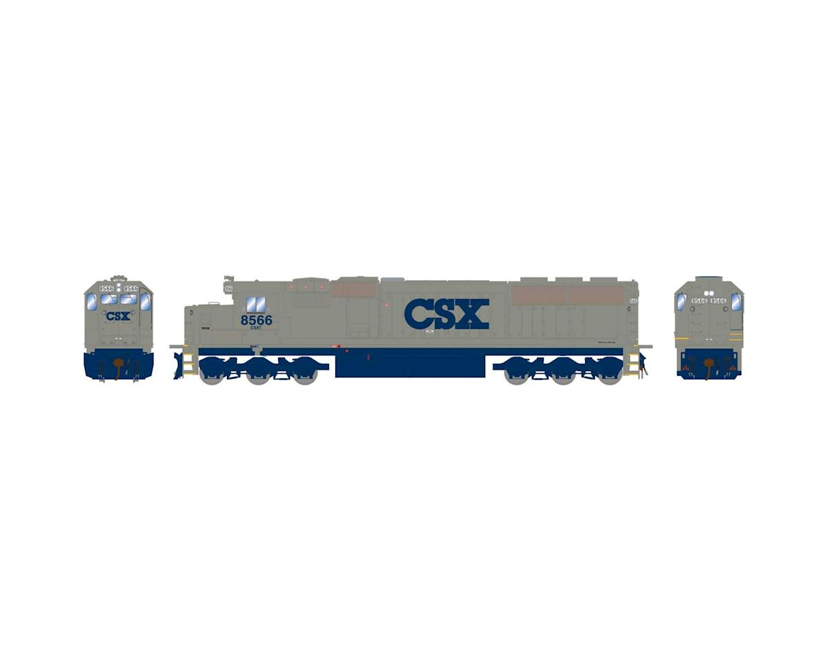 Athearn HO RTR SD50 w/DCC & Sound, CSX/Stealth #8566