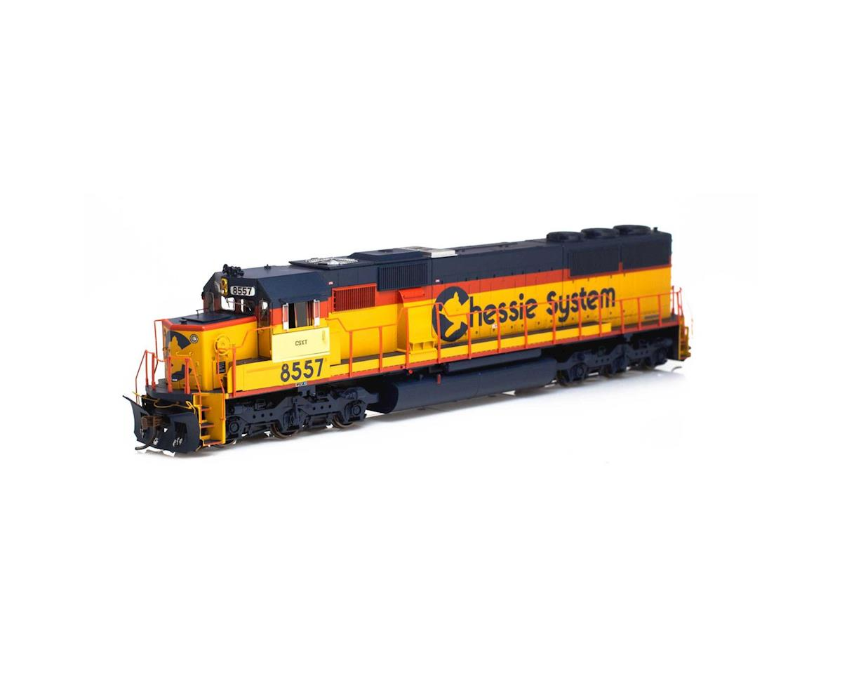 Athearn HO RTR SD50 w/DCC & Sound,CSX/Chessie Patched#8557