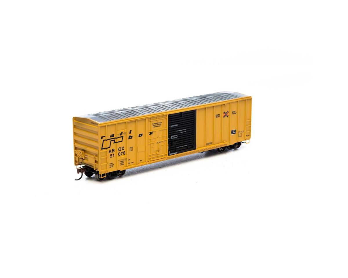 Athearn HO RTR 50' FMC Combo Door Box, RBOX/Late #51076