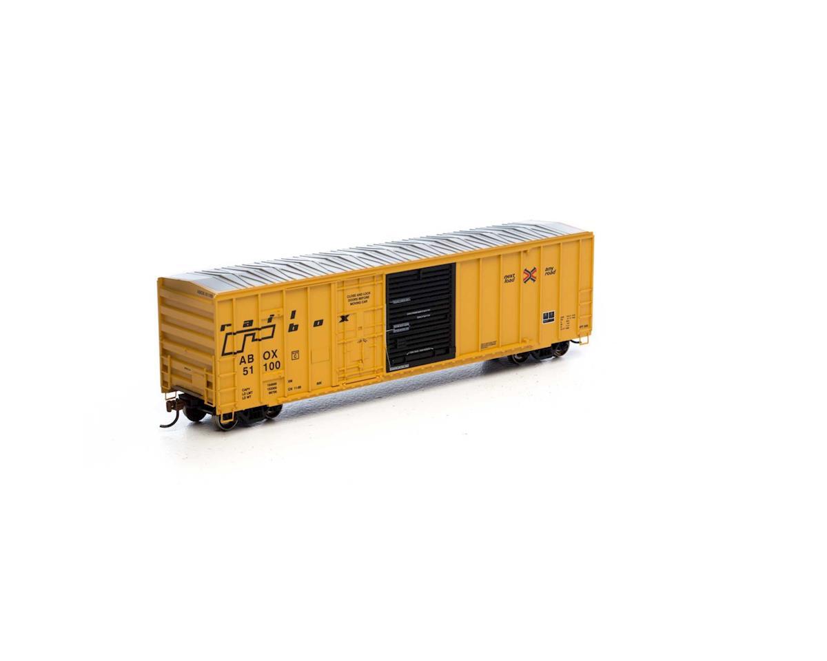 Athearn HO RTR 50' FMC Combo Door Box, RBOX/Late #51100