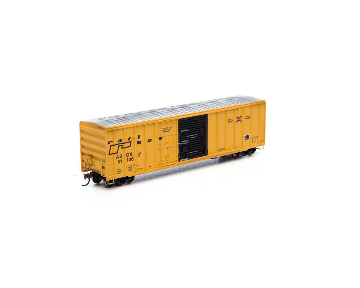 Athearn HO RTR 50' FMC Combo Door Box, RBOX/Late #51106