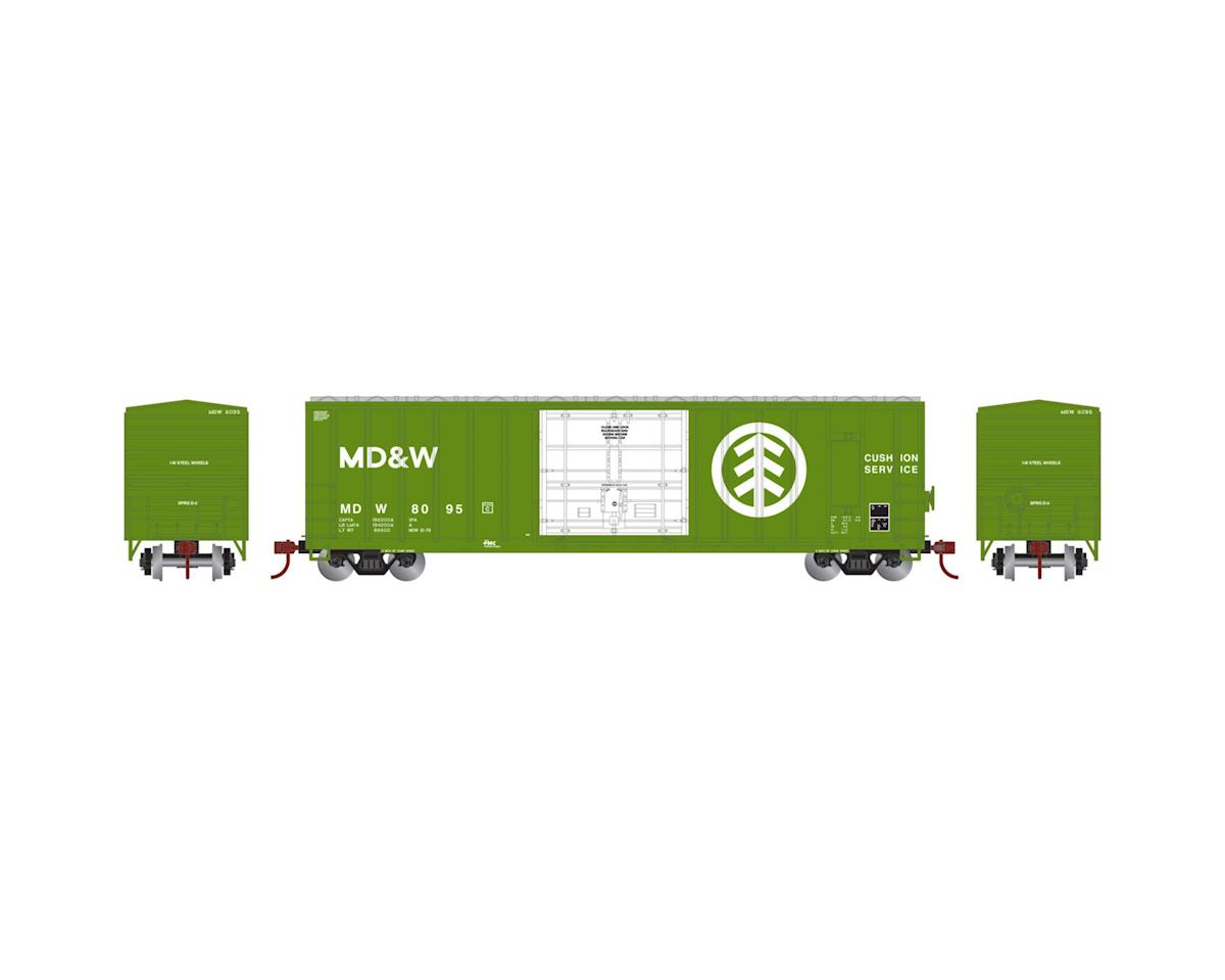 Athearn HO RTR 50' FMC Superior Plug Door Box, MD&W #8095