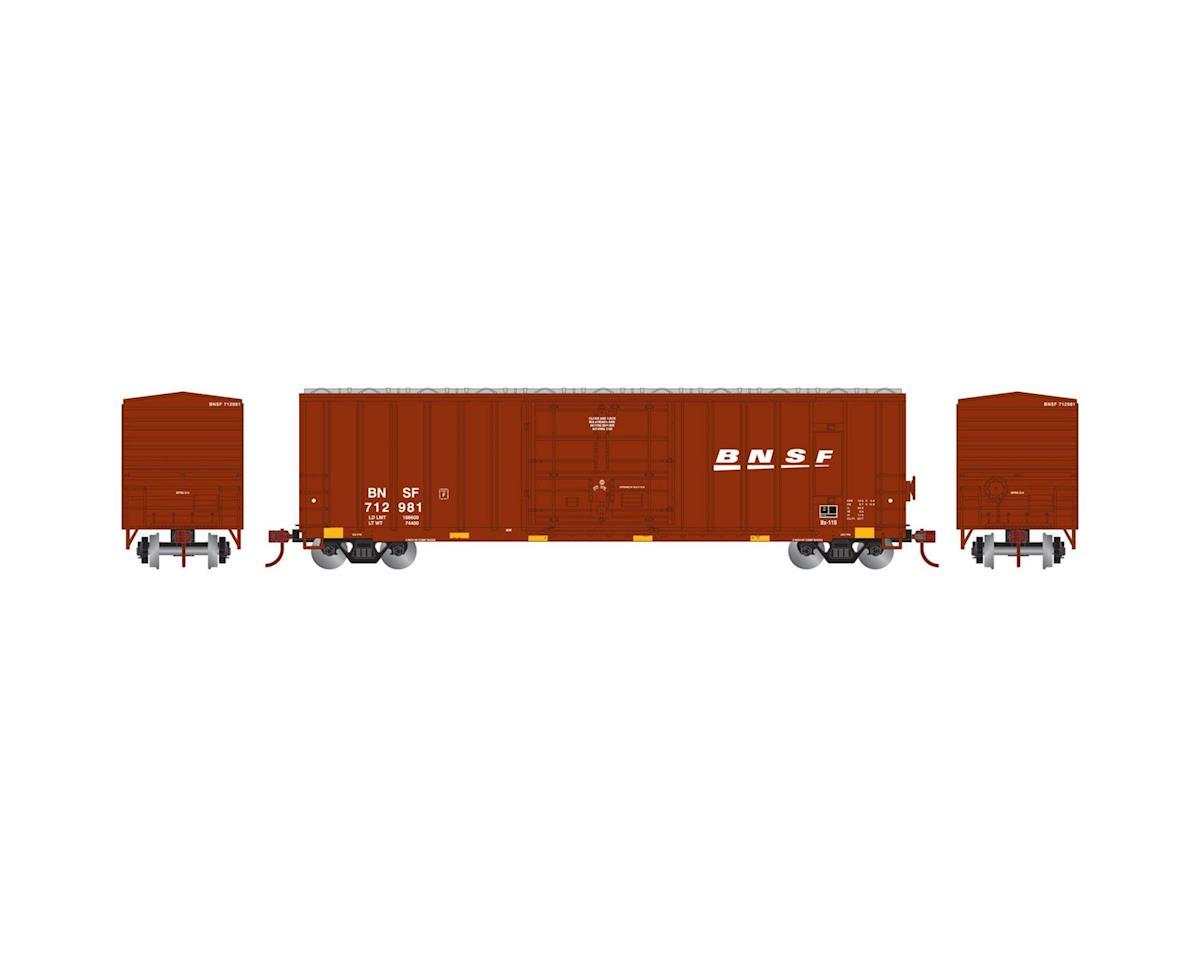Athearn HO RTR 50' FMC Superior Plug Door Box,BNSF #712981
