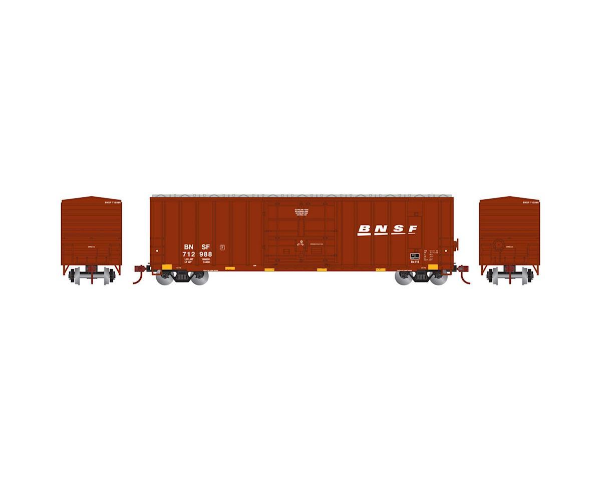 Athearn HO RTR 50' FMC Superior Plug Door Box,BNSF #712988