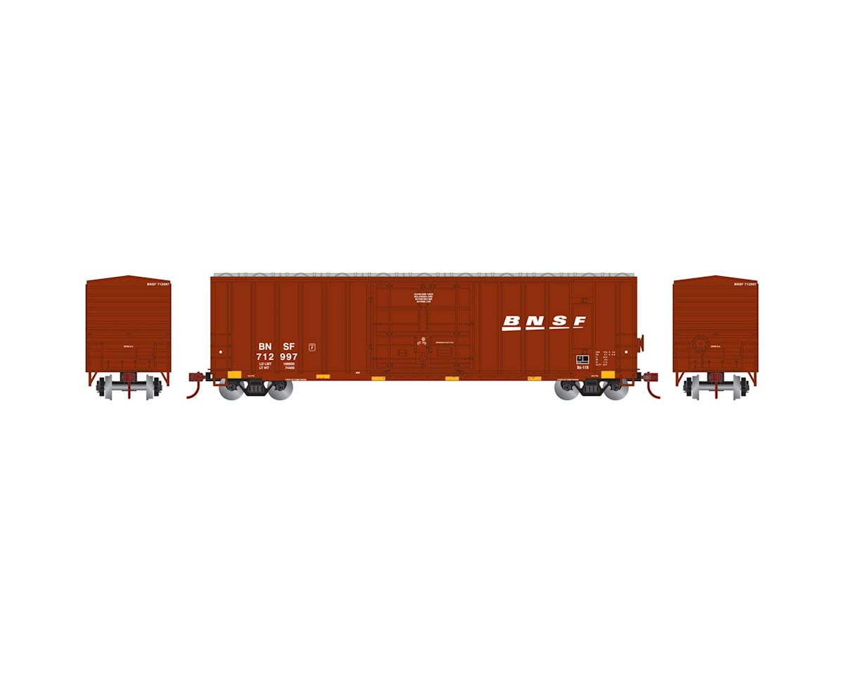 HO RTR 50' FMC Superior Plug Door Box,BNSF #712997 by Athearn