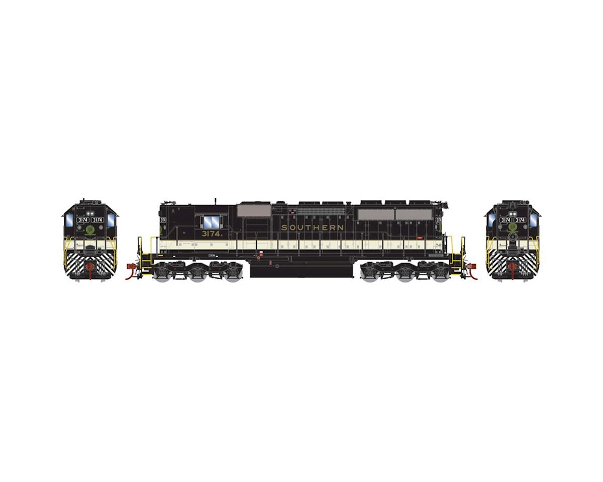 Athearn HO RTR SD40, SOU/Black/Off white #3174 A