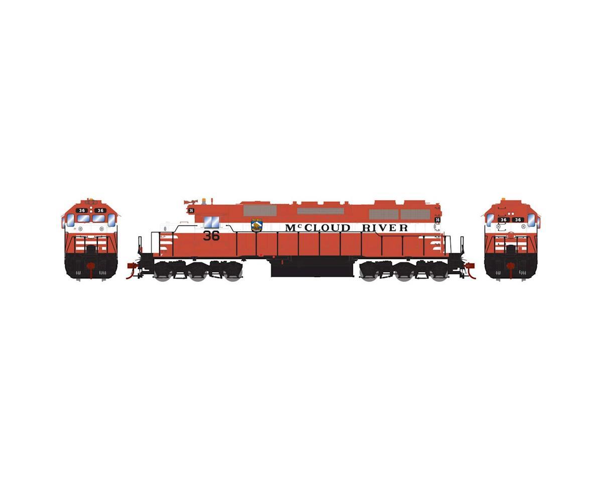 Athearn HO RTR SD38, McCloud River Railway #36