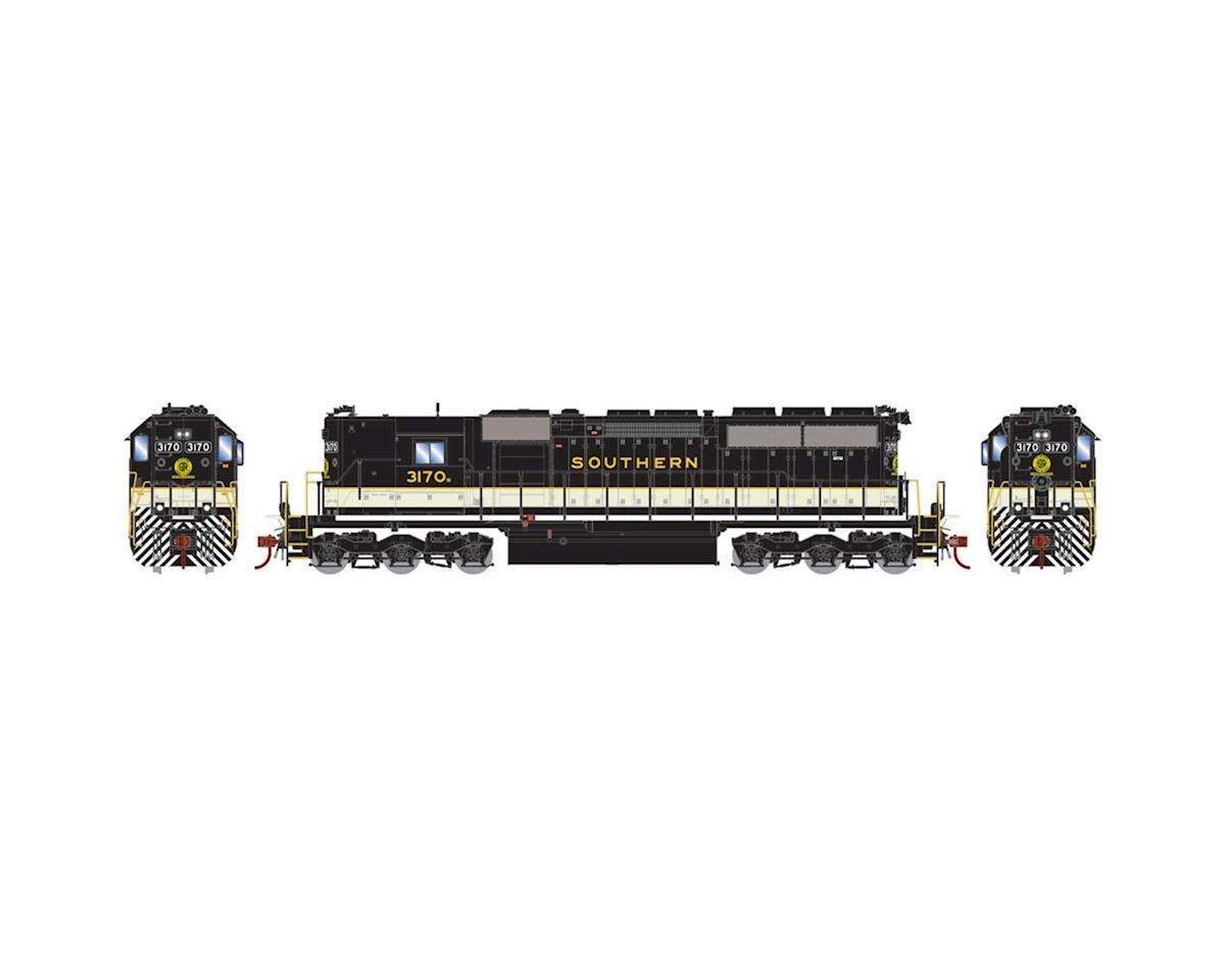 Athearn HO RTR SD40 w/DCC & Sound,NS/Black/Heritage #3170W