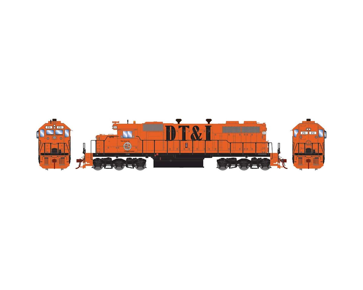 Athearn HO RTR SD38 w/DCC & Sound, DT&I #251