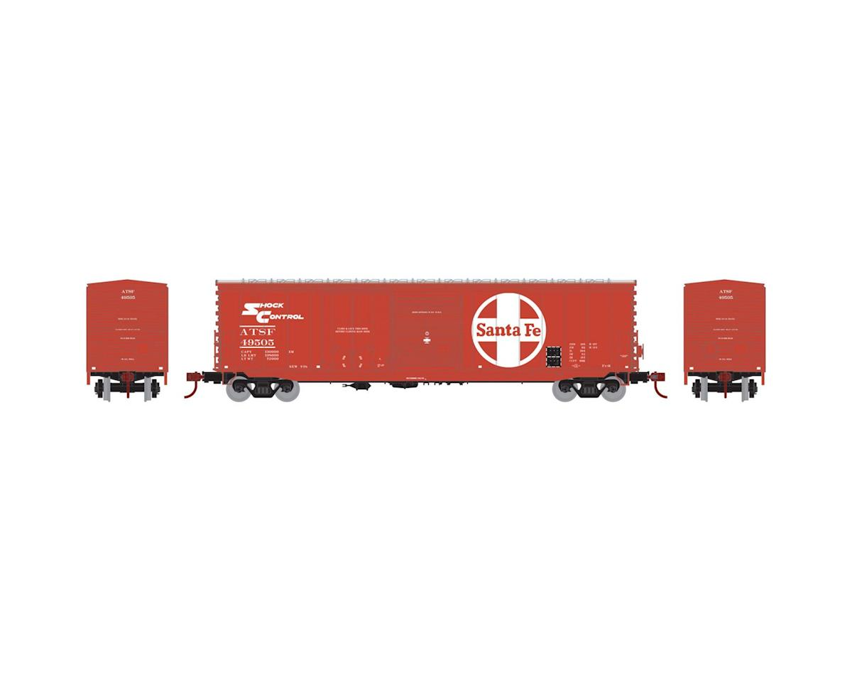Athearn HO RTR 50' Combo Door Box, SF #49505