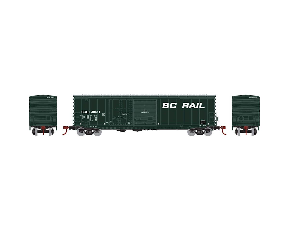 Athearn HO RTR 50' Combo Door Box, BCOL #40411