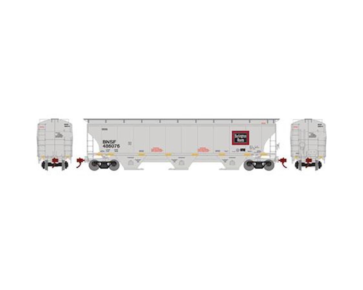 Athearn HO RTR Trinity 3Bay Hopper,BNSF/CB&Q/Legcy #486076
