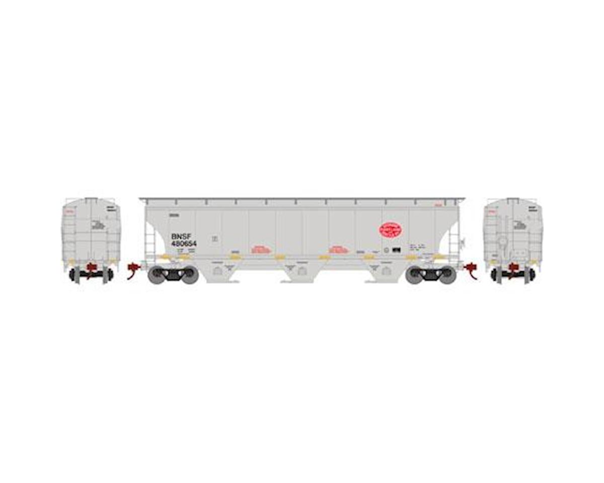 Athearn HO RTR Trinity 3Bay Hopper,BNSF/SP&S/Legcy #480654