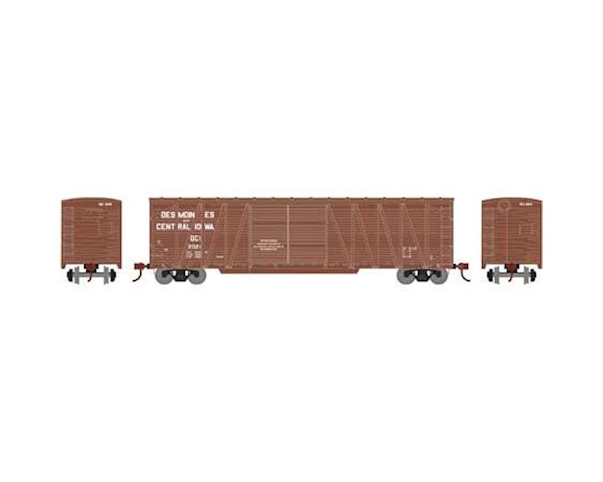 Athearn HO RTR 50' Single Sheathed Box, D&CI #2021